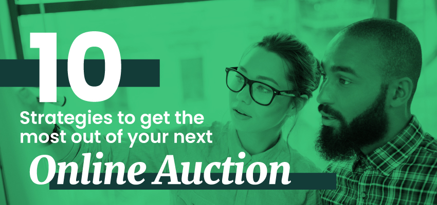 10 Strategies to get the most out of your next Online Auction Banner